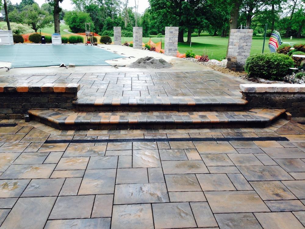 paved deck