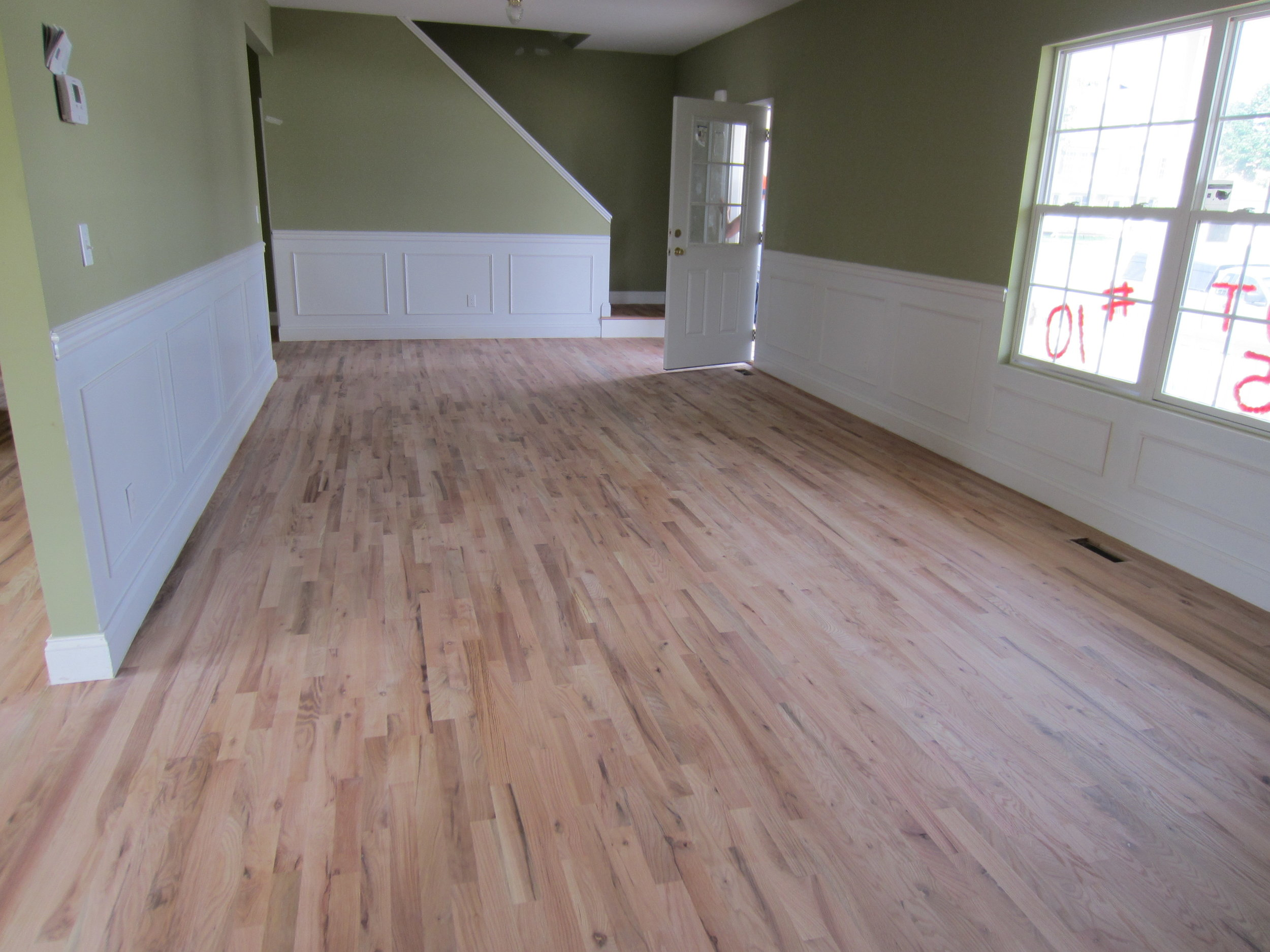 HARDWOOD FLOOR REFINISHING PROJECT HOW LONG DOES IT TAKE — Valenti