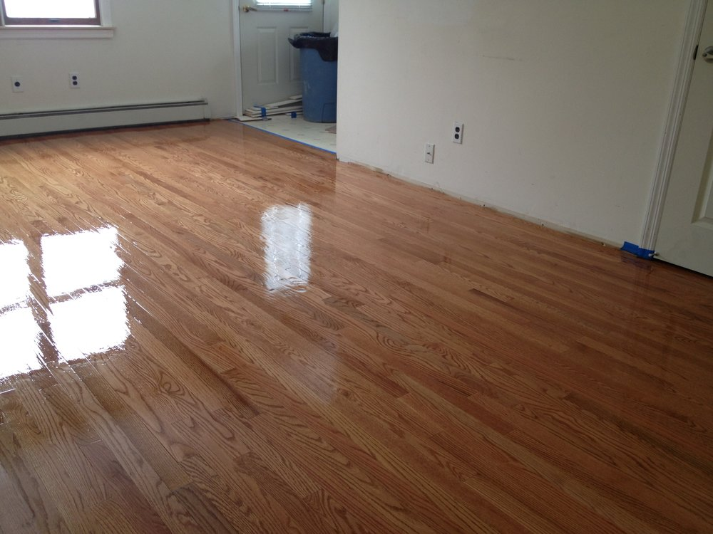 Here Are Some Different Grades Of Red Oak Hardwood Floors That We Have  Installed, Sanded And Finished, All Natural Without A Stain: