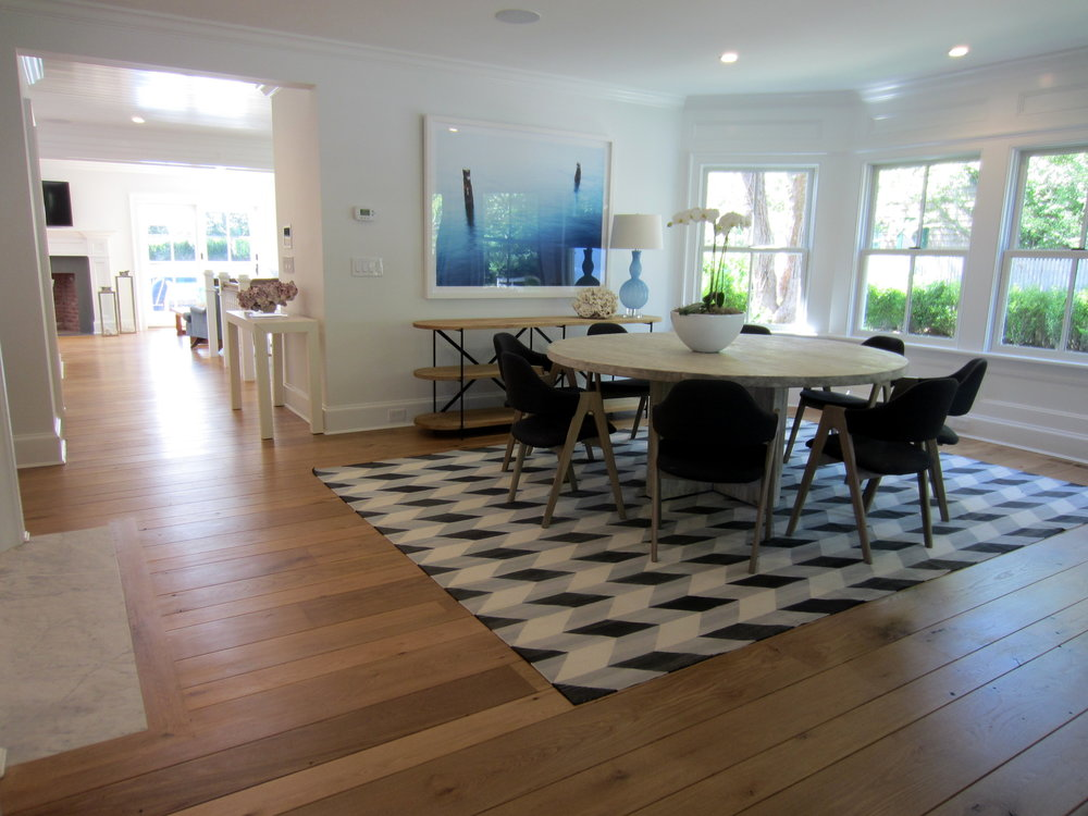 Amagansett - White Oak finished with Bona Traffic HD