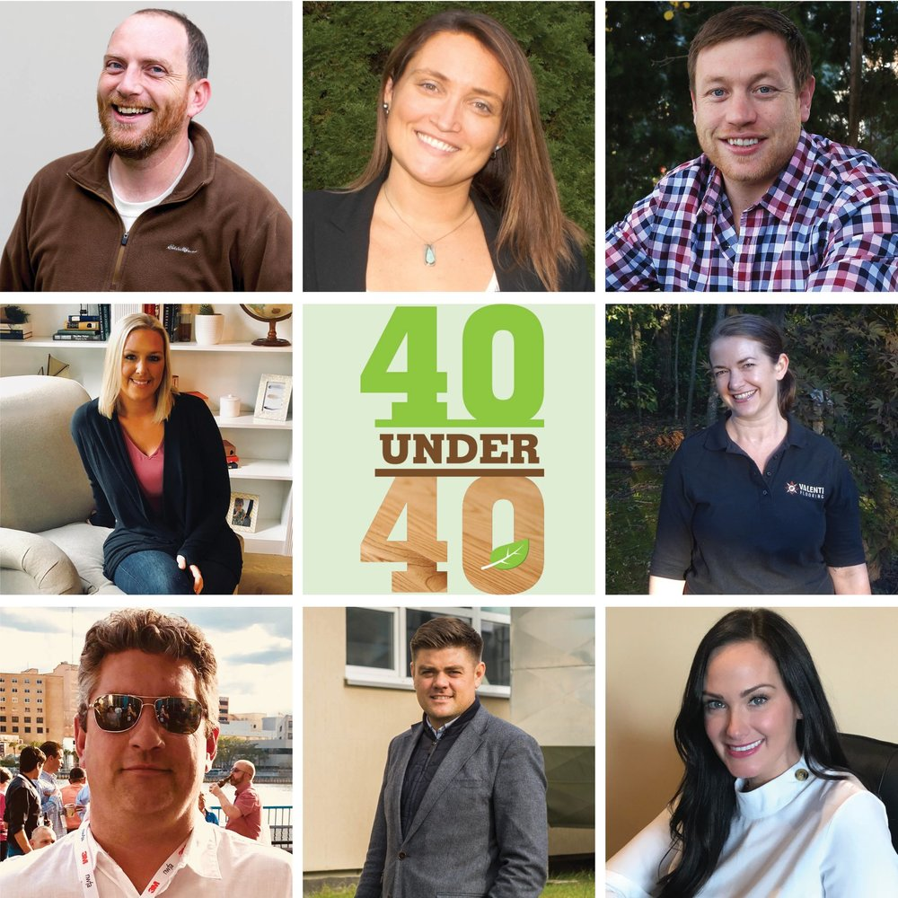 - Julia was named among the 2018 Top 40 Under 40 industry-leading Hardwood Flooring professionals by National Wood Flooring Association Magazine! Read more here.