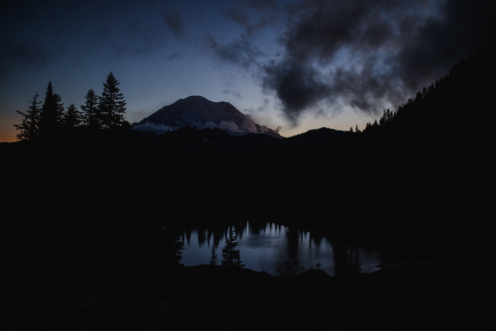 Olympia Senior Photographer Lake Tipsoo Mt. Rainier