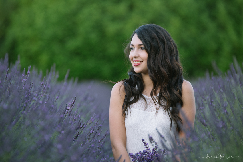 Olympia Senior Photographer Evergreen Lavender Farm Beautiful