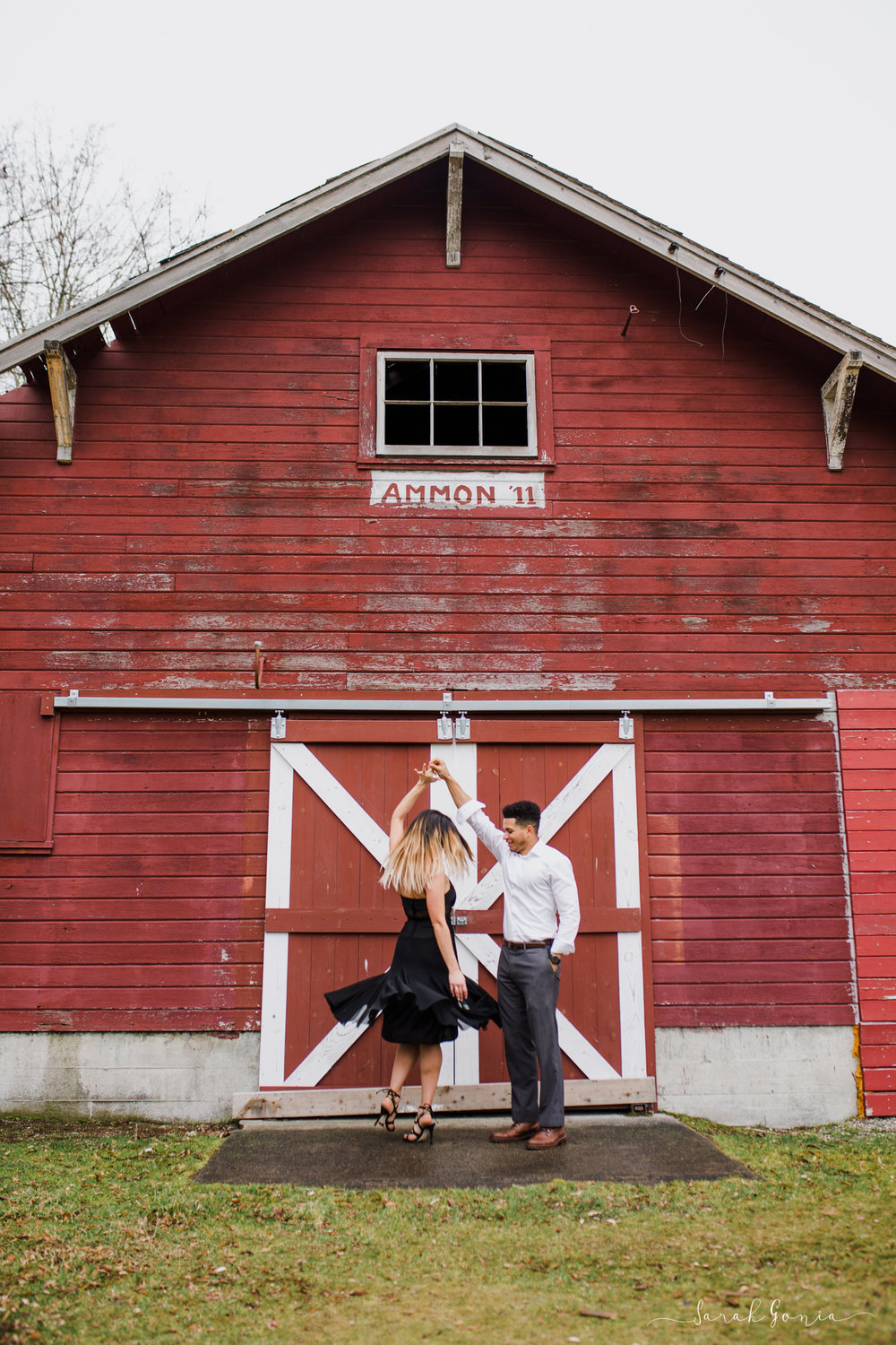Olympia Photographer Engagement, Love Stories and Weddings Dancing