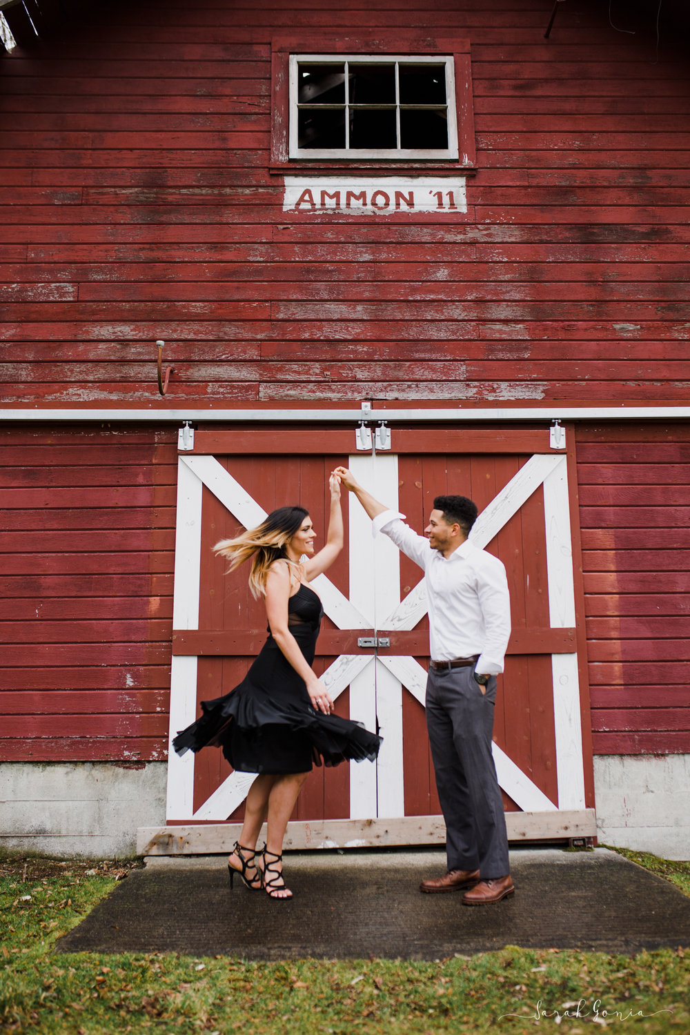 Olympia Photographer Engagement, Love Stories and Weddings Barn Dancing