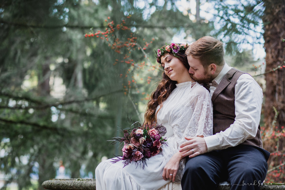 Pt. Defiance Wedding Portrait | Tacoma Wedding Photographer