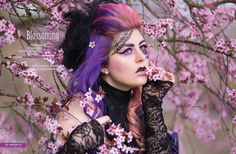 Stylized Geisha Portrait | Lacey Portrait Photographer