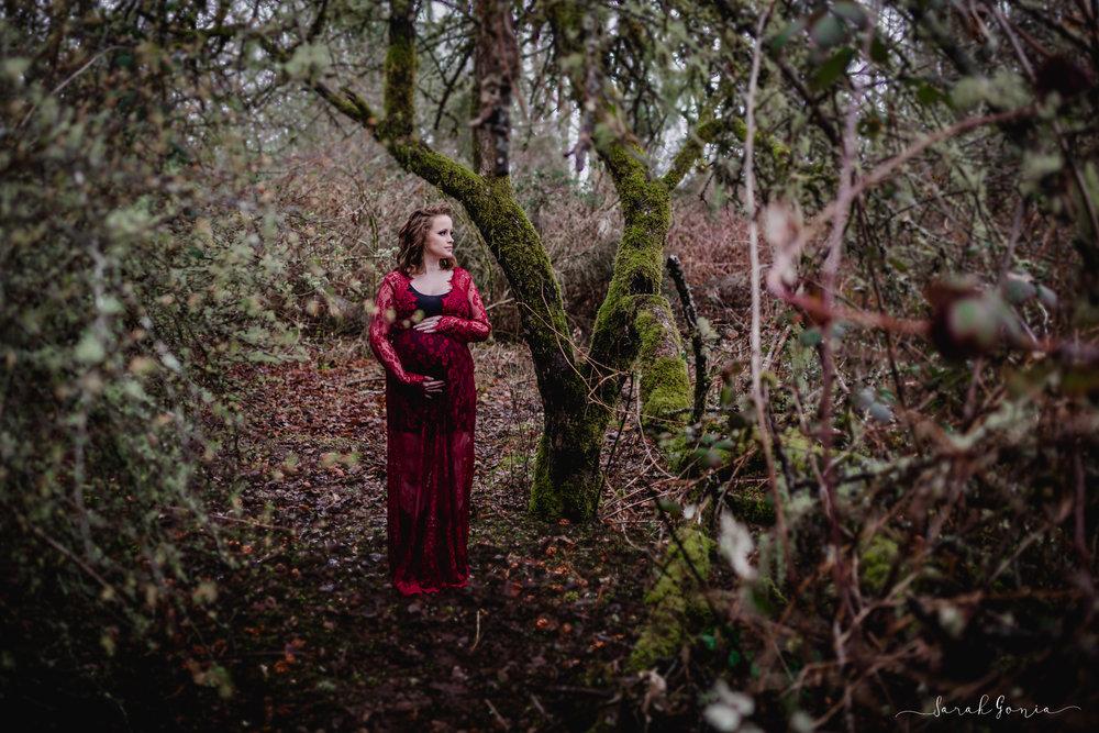 Ft. Steilacoom Maternity Portrait | Tacoma Maternity Photographer