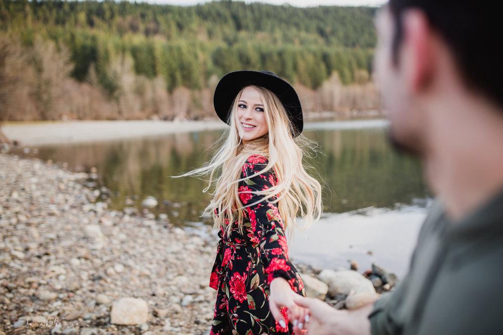 Rattlesnake Lake Engagement | North Bend Couples Photographer