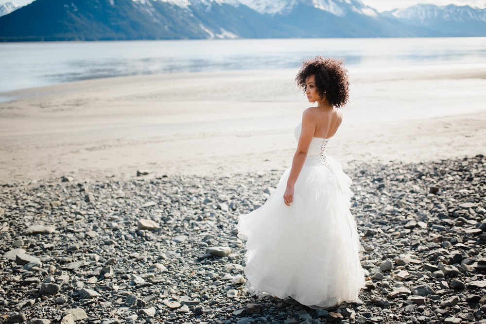 Anchorage Alaska Bride | Tacoma Wedding Photographer