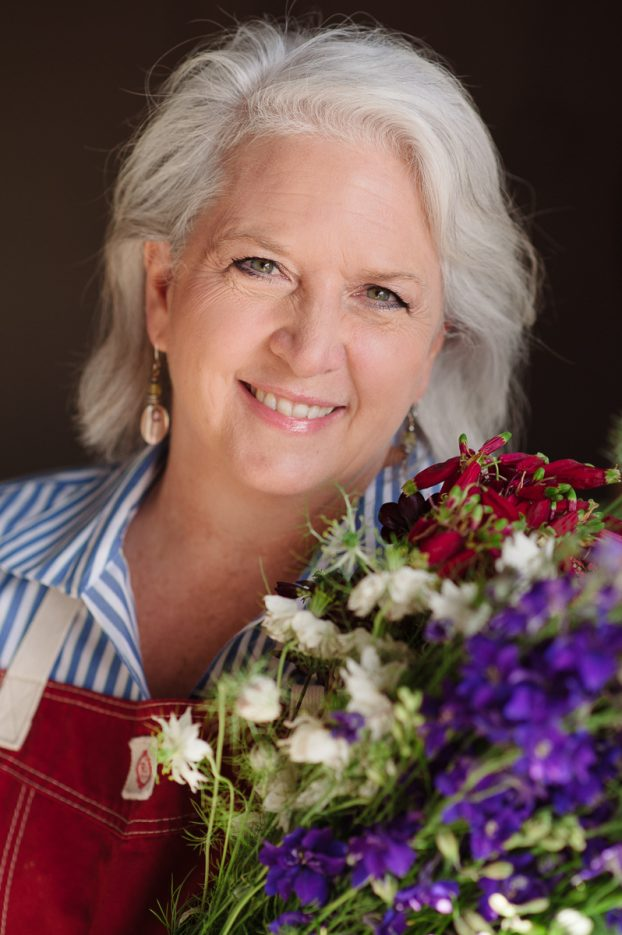 Debra Prinzing, award winning author, speaker and founder of slowflowers.com.  PC: Mary Grace Long Photography