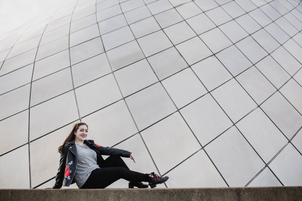 Museum of Glass Senior Portraits | Tacoma Senior Photographer