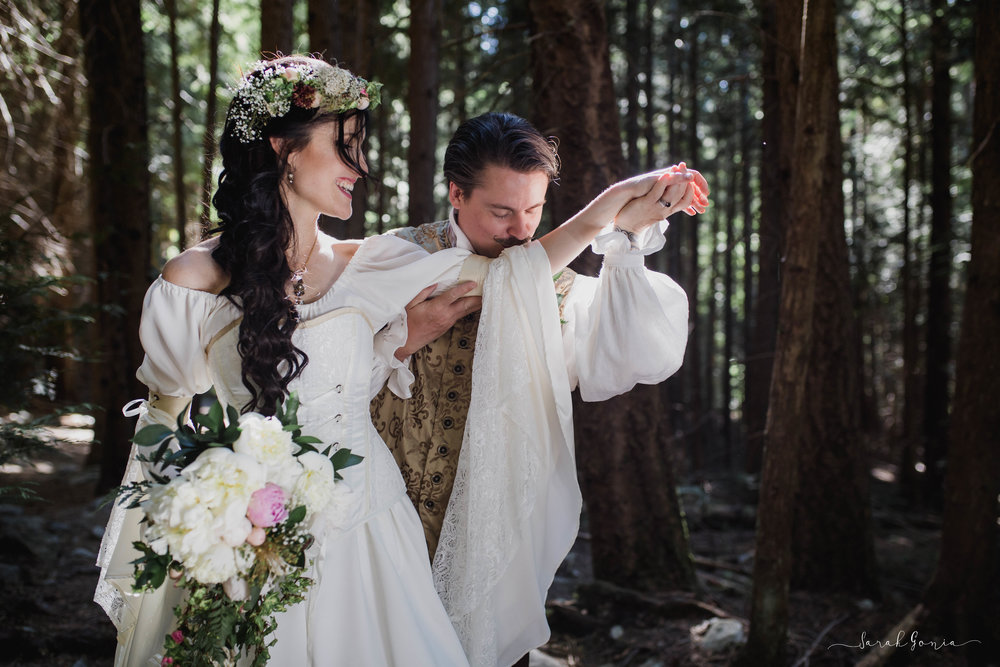 BC Wedding Portrait | Seattle Destination Wedding Photographer
