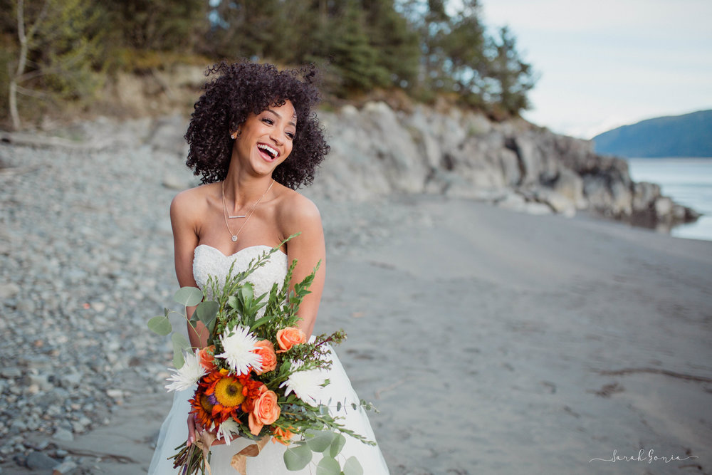 Bridal Portrait | Sarah Gonia Photography | Alaska, Washington and Destination Wedding Photographer