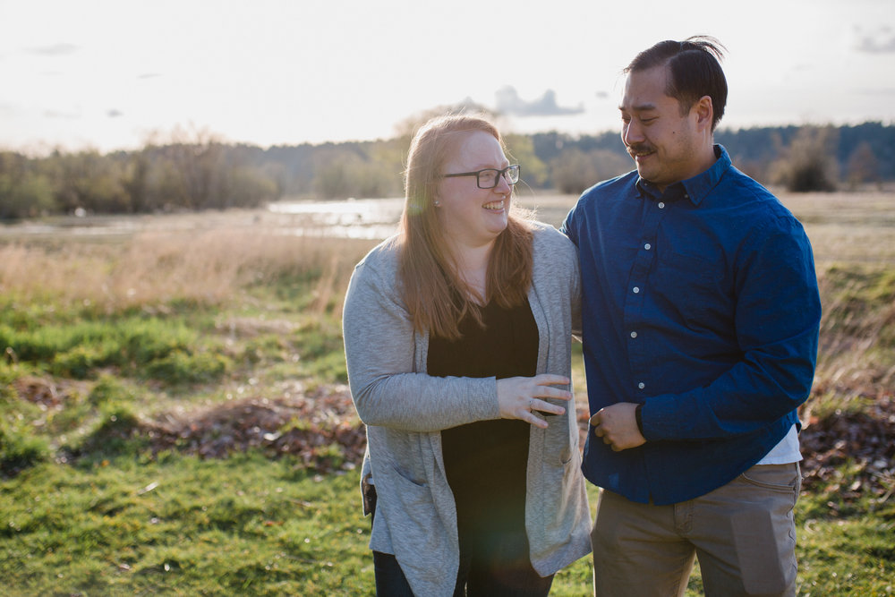 Nisqually Engagement | Olympia Wedding Photographer