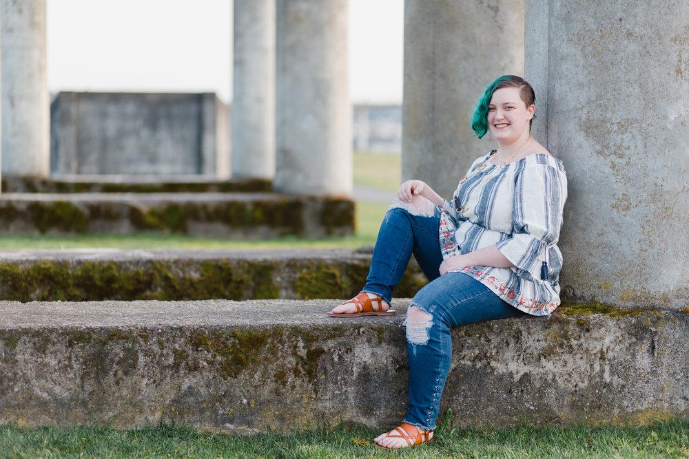 Chambers Bay Senior Portraits | Tacoma Senior Photographer