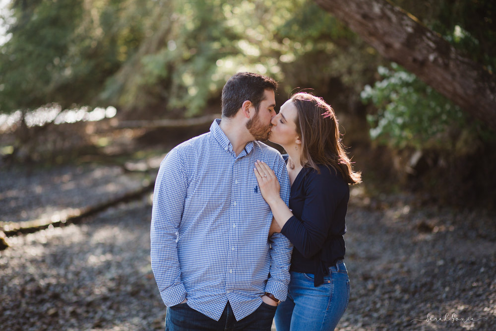 Manchester State Park Engagement Session | Olympia Wedding Photographer