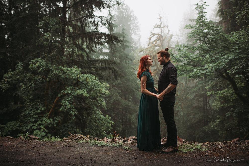 Lake Cushman Couples Session | PNW Wedding photographer