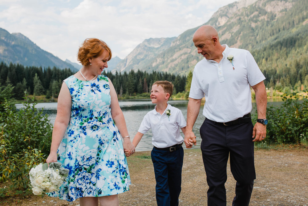 Gold Creek Pond Vow Renewal | Olympia Wedding Photographer