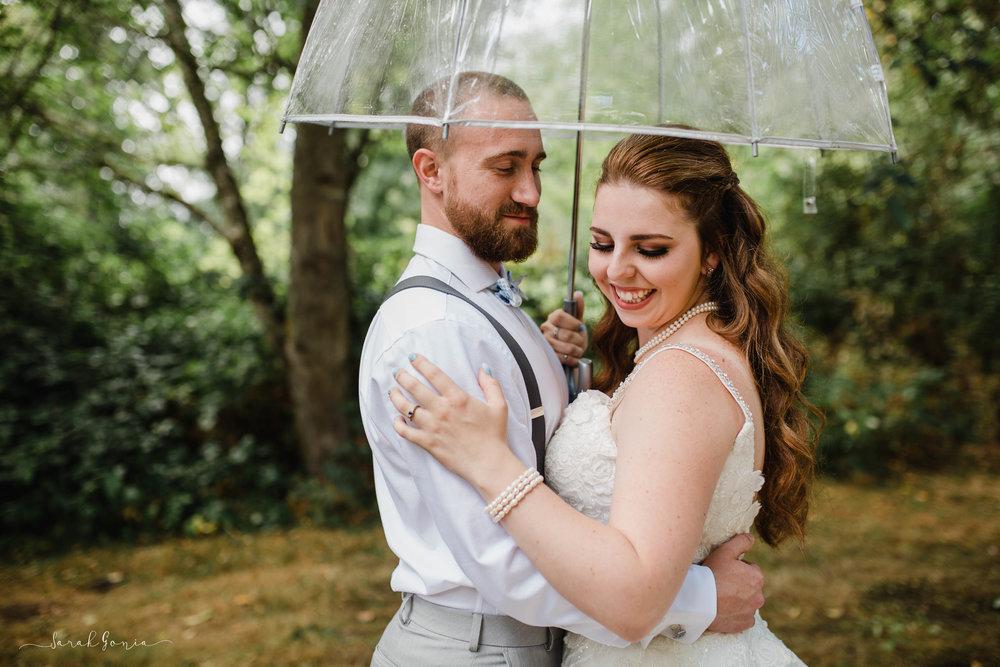 Bride and Groom Portraits | Olympia Wedding Photographer