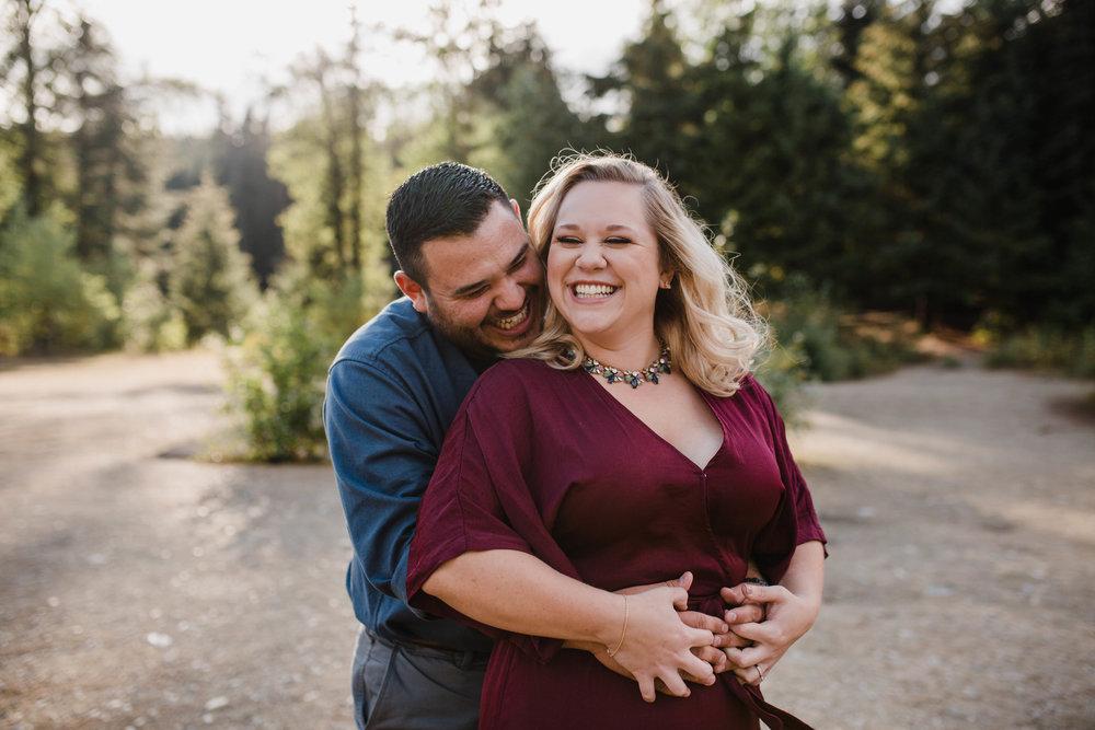 Gold Creek Pond Engagement Session | Olympia Wedding Photographer