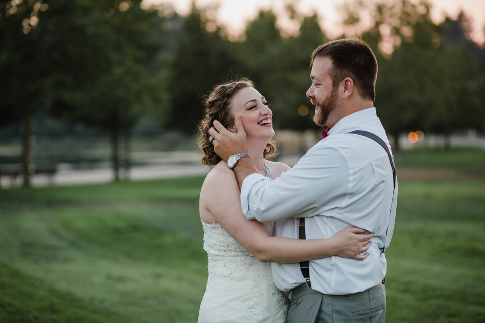 Bride and Groom Portraits | Olympia Wedding Photographer