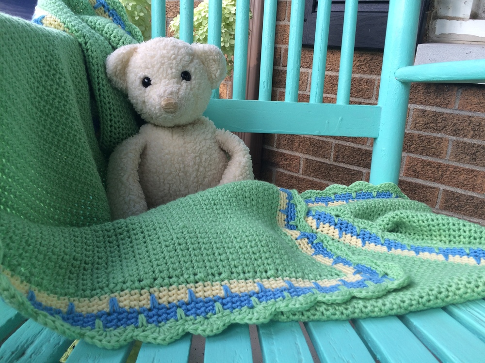 Gentle Waves Baby Blanket