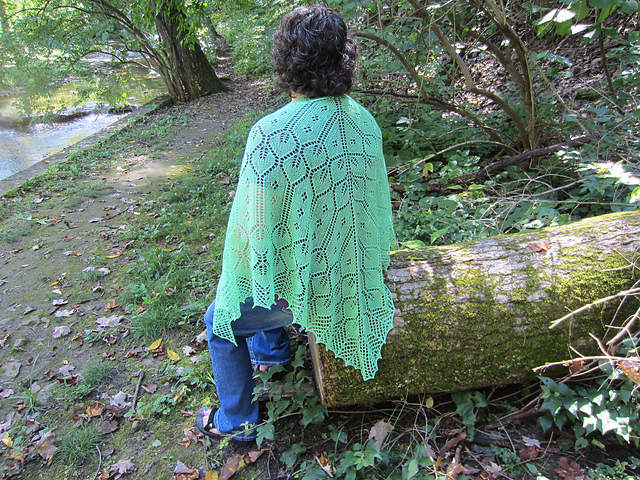 Party Tree Shawl