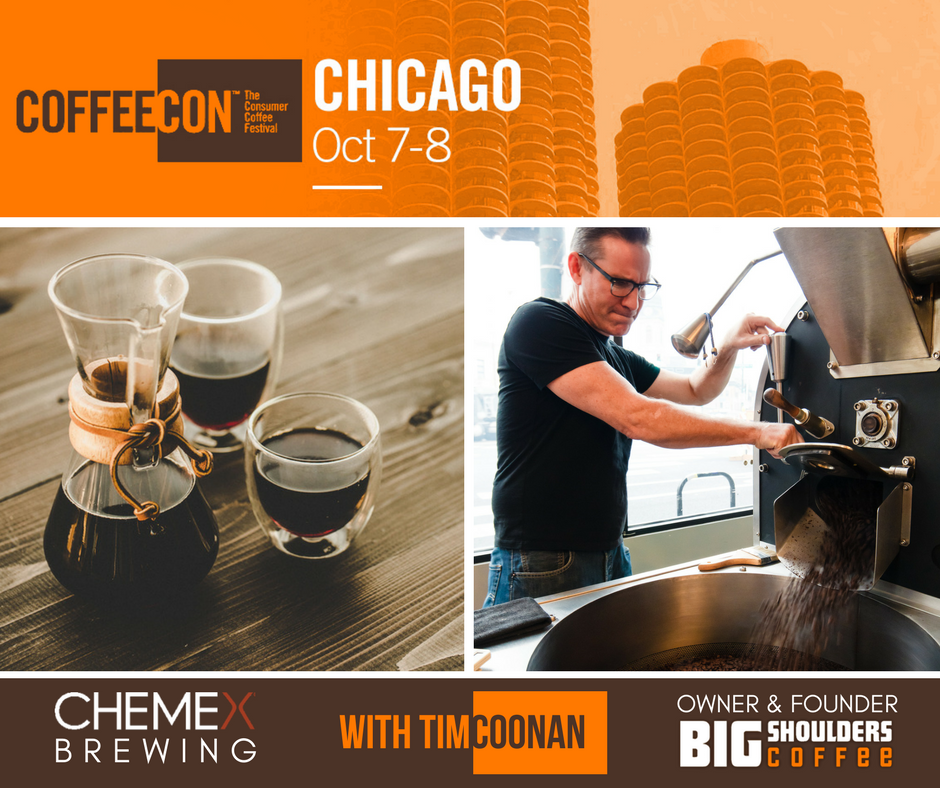 VISIT US AT COFFEECON - Oct 7-8