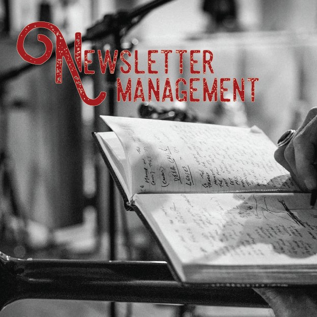 Connect with your fans through a thoroughly designed and cohesive newsletter. Reach more people with your music and news.