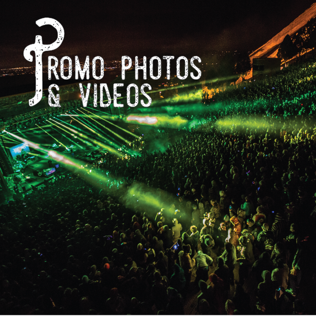 From red rocks to the studio, we will capture your best musical moments view examples of our work here