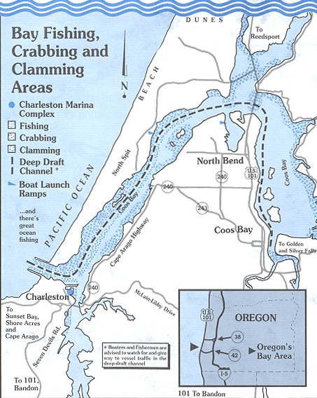 Coos Bay Oregon Map Maps & Links — Port of Coos Bay   Oregon's Seaport Coos Bay Oregon Map