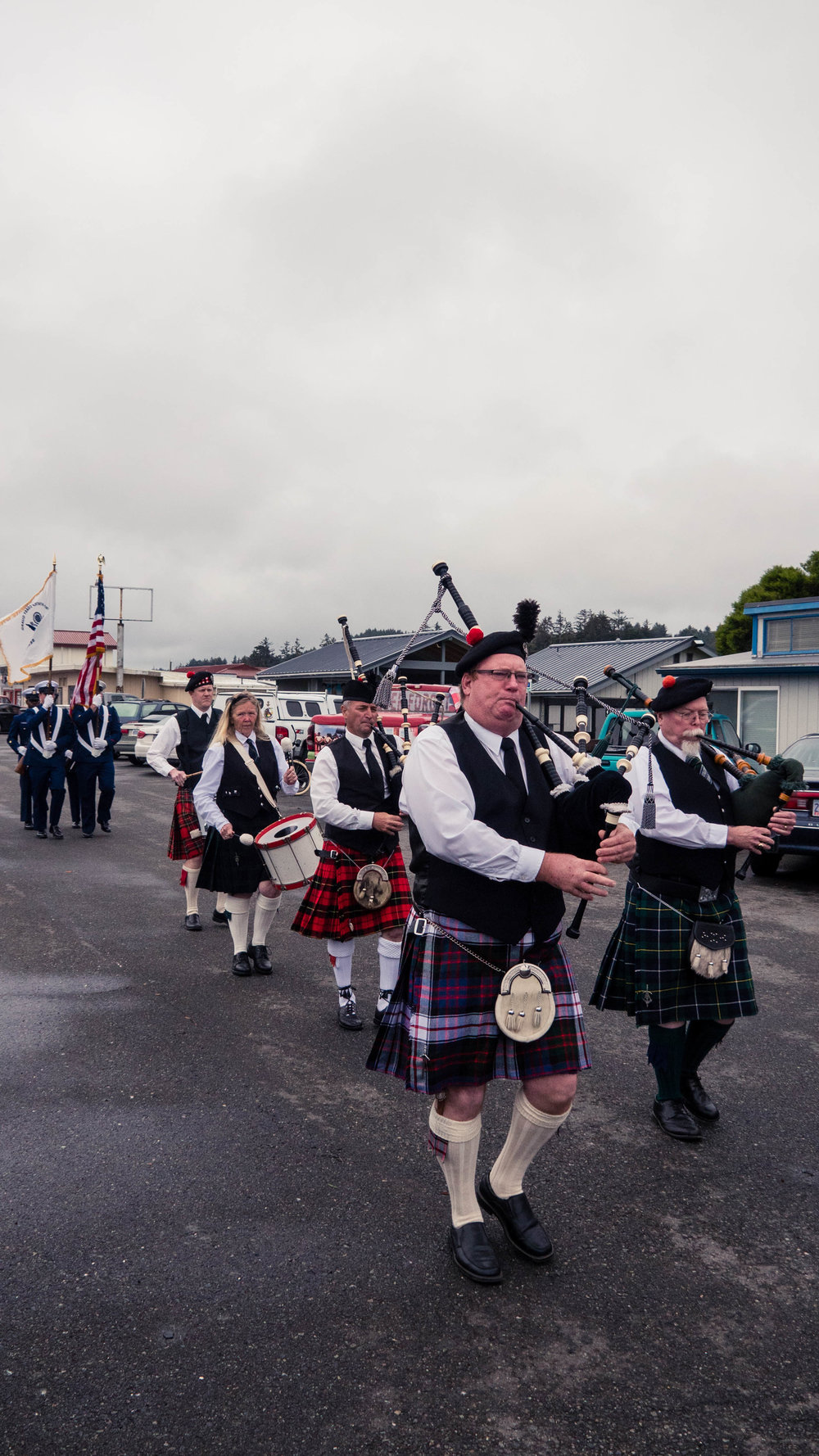 Oregon Coast Pipes & Drums