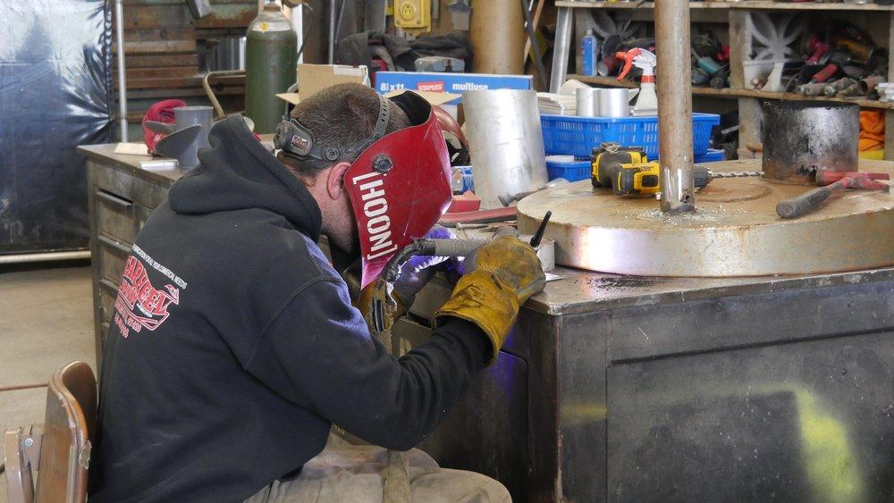 tarheel aluminum welder