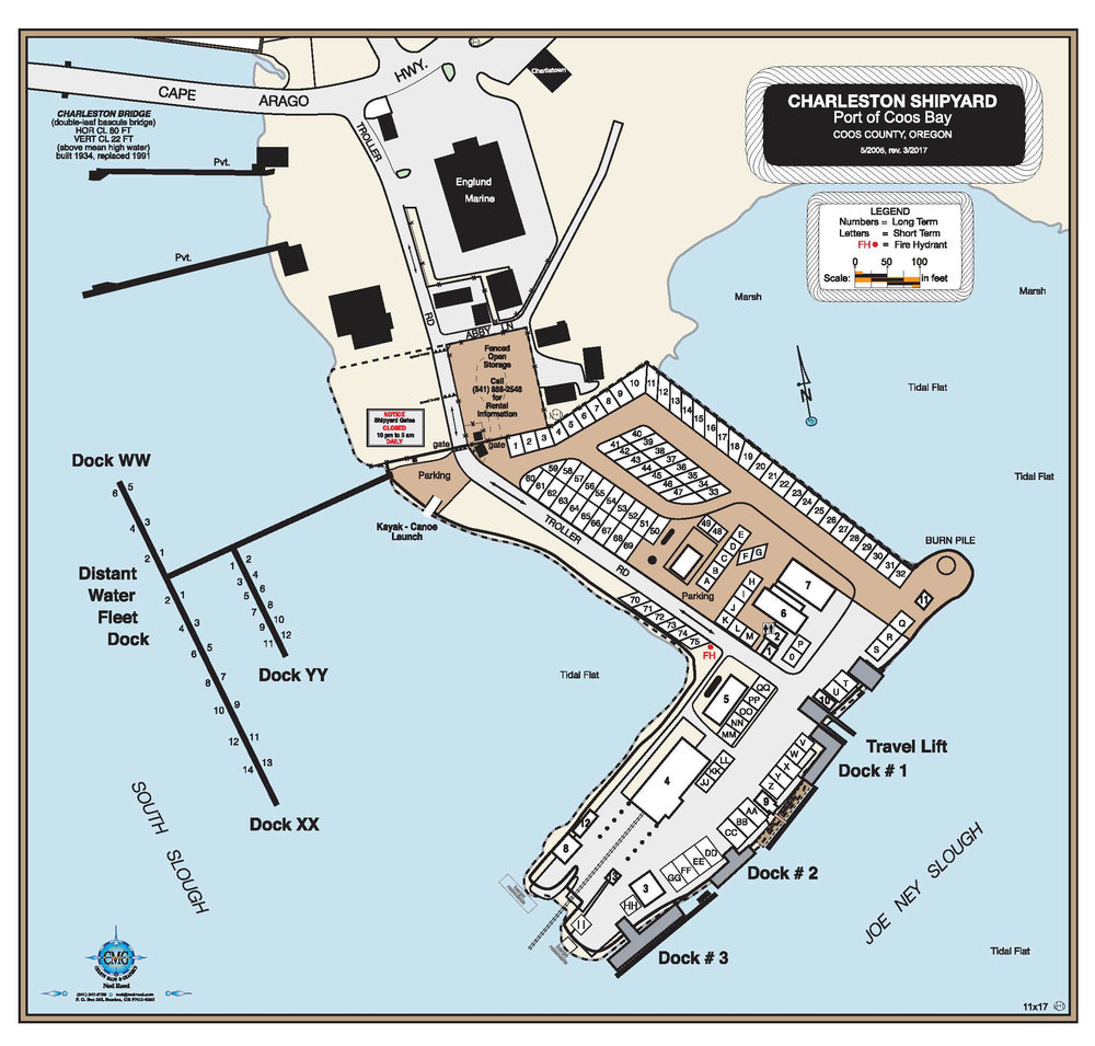 Map of Charleston Shipyard