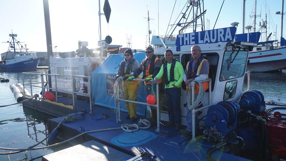 Port of Coos Bay dredge team