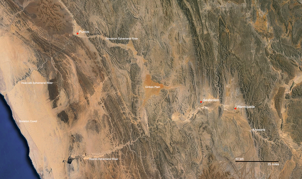 Purros, Sesfontein and Warmquelle SFP sites