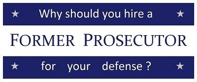 criminal defense former prosecutor