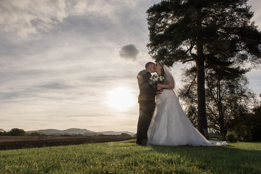 Melissa and Jamie - Southdowns Manor