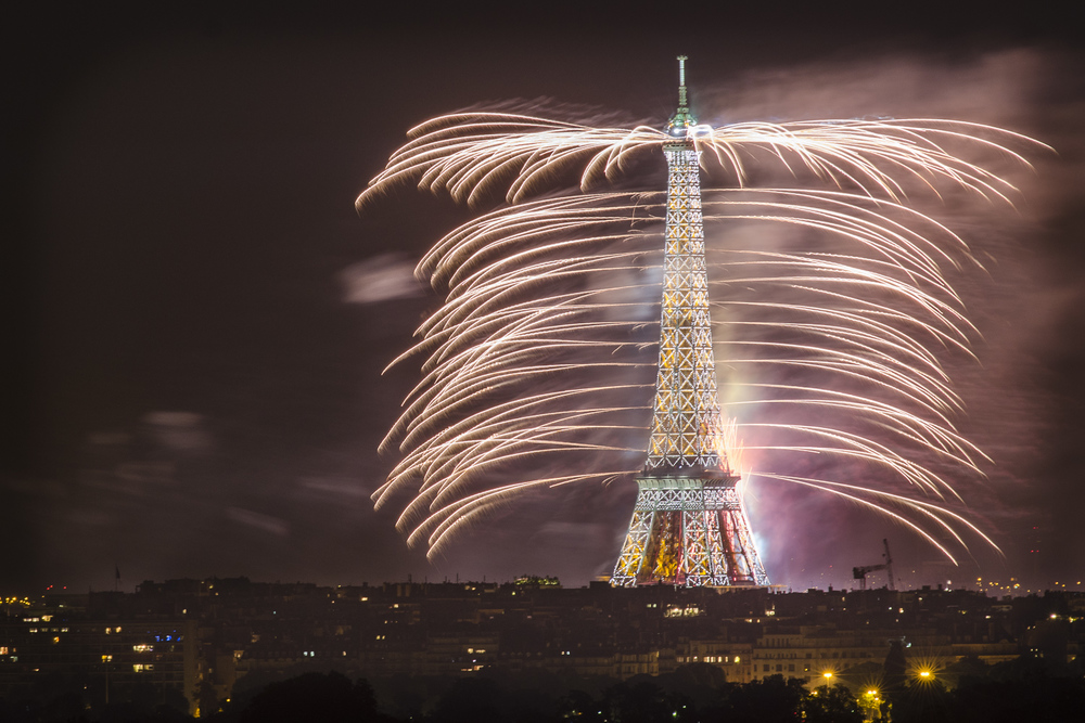 Bastille Day - PHOTOGRAPHY : ALEXANDER J.E. BRADLEY - NIKON D7000 - NIKKOR 80-200MM F/2.8 @ 185MM F/5 - 3 seconds - ISO:100
