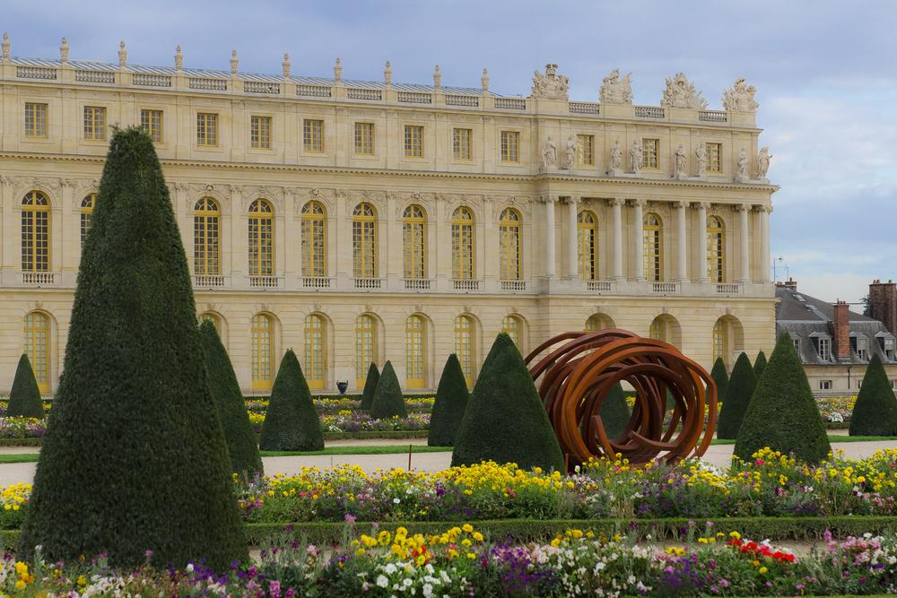 "Special exhibit ""Venet in Versailles"" - Alexander J.E. Bradley - Nikon D7000 - 24.0-70.0 mm f/2.8 @ 62mm - f/6.3 - 1/160 - ISO 100"