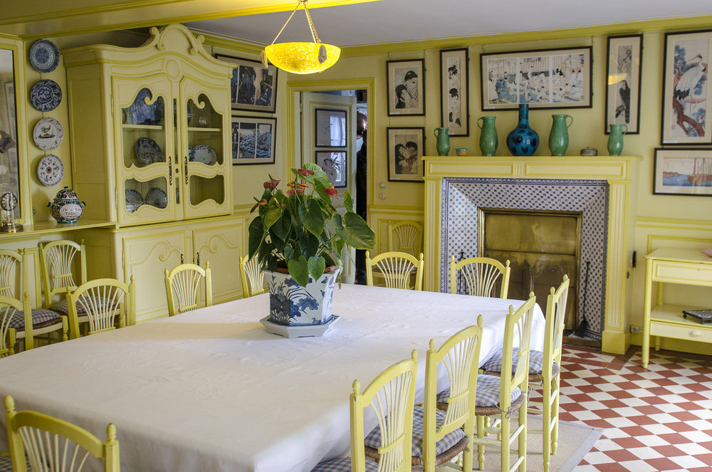 Monet's House Interior - Photo: Alexander J.E. Bradley - Nikon D7000 - 24-70mm f/2.8 @ 24mm - f/3.5 - 1/50 - ISO 800