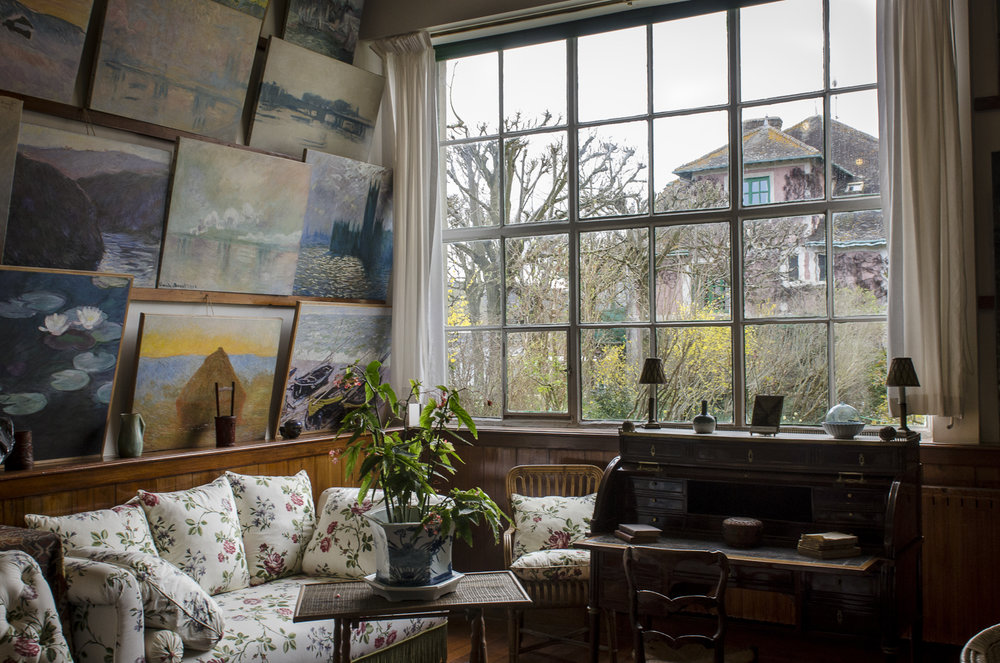 Monet's House Interior - Photo: Alexander J.E. Bradley - Nikon D7000 - 24-70mm f/2.8 @ 24mm - f/9 - 1/50 - ISO 400