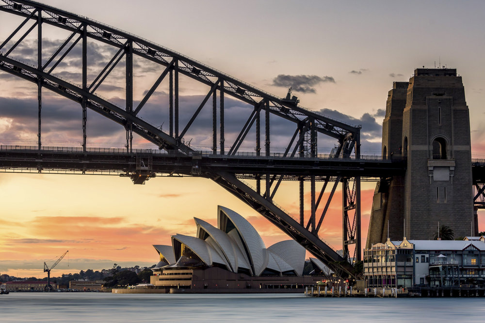 Sydney Harbour Bridge and Opera House - PHOTO: Federico Rekowsk - Canon EOS 5DS R - 70-200mm @ 89MM F/9 - 1/5 - ISO 100