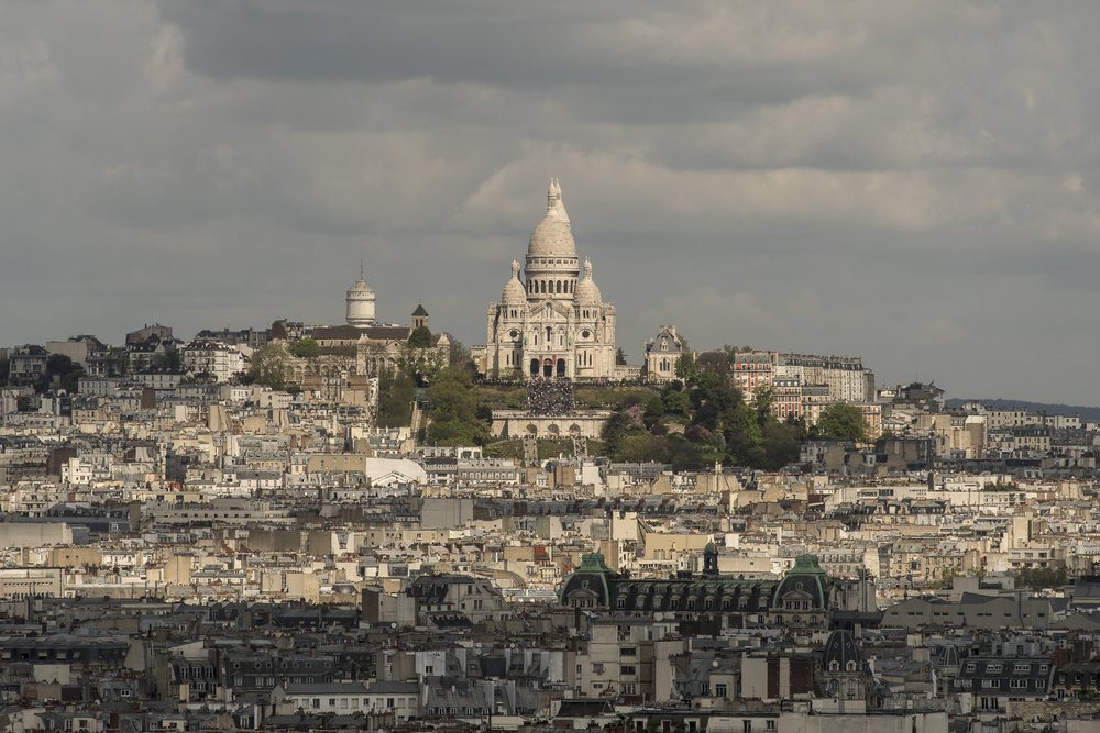 Sacré-Coeur  From the Belfry  PHOTOGRAPHY : ALEXANDER J.E. BRADLEY •Nikon D500 • AF Zoom-NIKKOR 80-200mm f/2.8D ED • 200mM • F/11 • 1/1000 •ISO 100