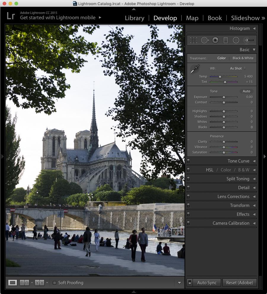 Step 0 - Original Image Nikon D7000 -AF-S NIKKOR 24-70mm f/2.8G ED @ 48mm -f/4.3 - 1/320 - ISO100