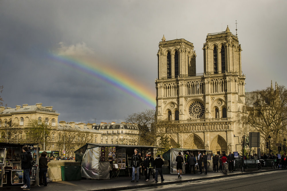 Quai Saint-Michel - Streetside  PHOTOGRAPHY : ALEXANDER J.E. BRADLEY •Nikon D7000 • AF-S NIKKOR 24-70mm F/2.8G ED • 36MM • F/13 •1/125 •ISO 100