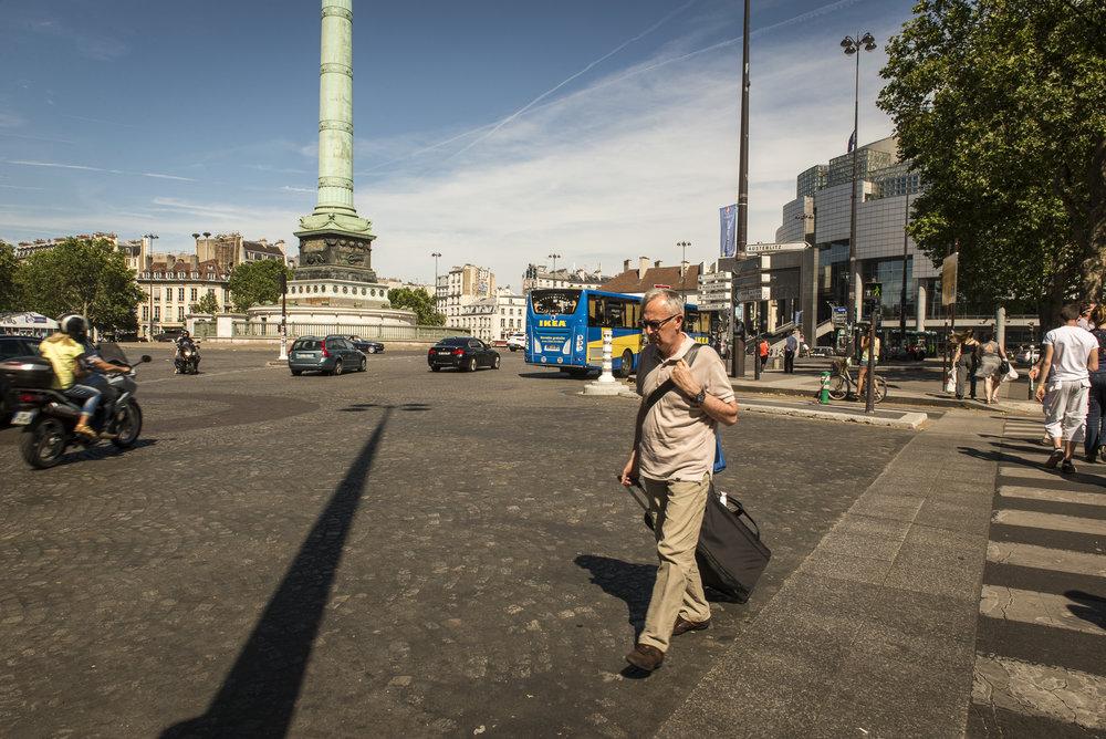 Place de la Bastille  PHOTOGRAPHY: ALEXANDER J.E. BRADLEY •NIKON D610 • AF-S NIKKOR 24-70mm f/2.8G ED @ 24mm • F/16 •1/160 •ISO 100