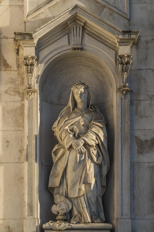 Basílica da Estrela  PHOTOGRAPHY: ALEXANDER J.E. BRADLEY •NIKON D500 • AF-S NIKKOR 24-70mm f/2.8G ED • 50mm • F/5.6 •1/500 •ISO 100