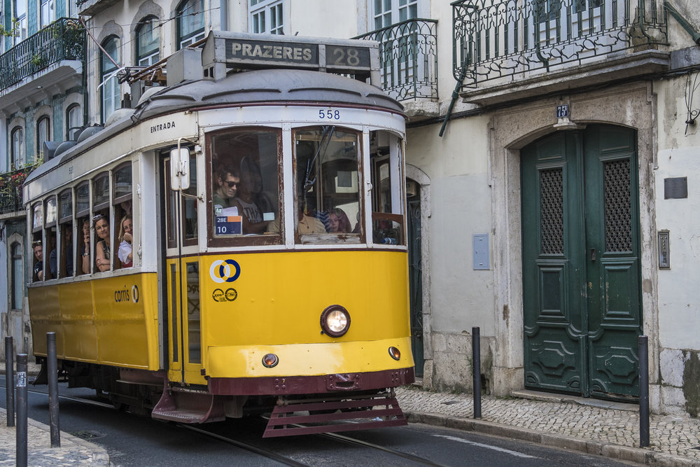 The best spots along lisbon 39 s tram 28 aperture tours for How much does a hillside tram cost